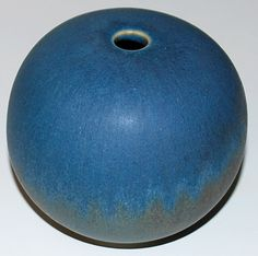 Preben Brandt Larsen, vase in stoneware, own studio, Denmark.