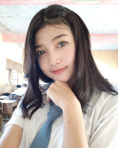 Indonesian Girls, Asia Girl, Fashion Beauty, Womens Fashion, Young And Beautiful, School Uniform, Poses, Lady, Instagram