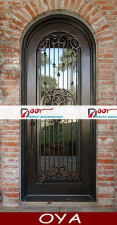 Wrought Iron Single Door, Wrought Iron Single Door Products ...