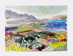 Fynbos Landscape II - Alexandra Karamallis - Original Work - Tappan