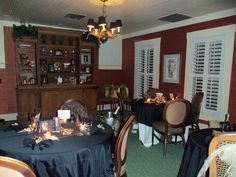 The Younger Room at The Veranda #TheVeranda #DowntownFortMyers #SouthwestFlorida #FortMyers #finedining #southerncuisine #youngerroom