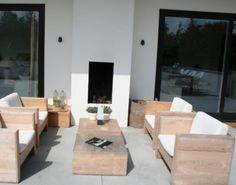 tuinideeën | mooi idee voor de veranda Door stefanie-isabella