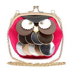 Cuero de PU Bolso de Bandolera, con metal, chapado, más colores para la opción, 150x160x100mm, 3Unidades/Grupo, Vendido por Grupo,Abalorios de joyería por mayor de China