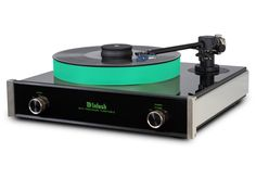 The McIntosh MT5 precision turntable is a complete turntable package that is…