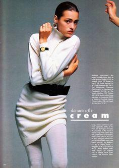 Yasmin Le Bon .. Vogue UK Dec 1986