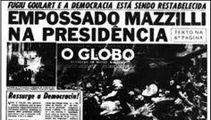 A Globo apoiou a Ditadura.  #ZelotenaGlobo