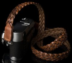 Angelo Pelle Announces New Braided Leather Neck Straps