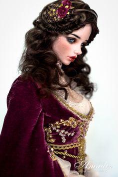 Purple Juliette - Renaissance outfit par George... - True Dolls