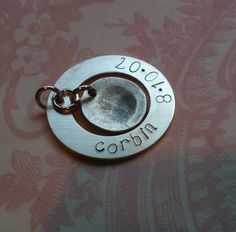 Fingerprint jewelry - I have a fingerprint necklace of Anni's little print, and I love it!! :)