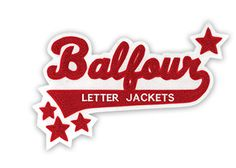 Athlete Letter Jackets and Chenille Patch Design | Balfour