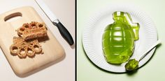 brass knuckles toast and jello grenade
