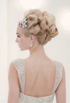 Bride hair #Bride_hair #Hair_Style