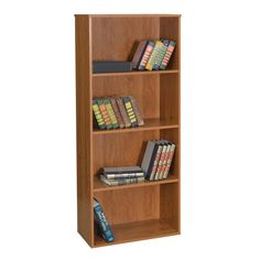 Home Office 4-Shelf Bookcase