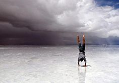 For time:  20 Kettlebell swings, 2 pood  30 Toes to bar  Run 400 meters    Post time to comments.    Photo: Salinas Grandes, Jujuy, Argentina.    http://www.crossfit.com/mt-archive2/008784.html
