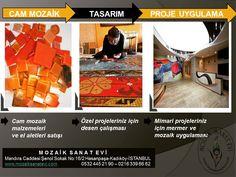 Yüzlerce renk seçeneği ile yeni seri mozaik malzemelerimiz