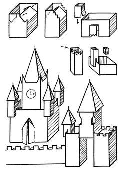 Как сделать макет здания из бумаги своими руками