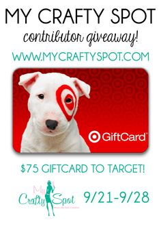 COME ENTER THE GREAT TARGET GIFT CARD GIVEAWAY