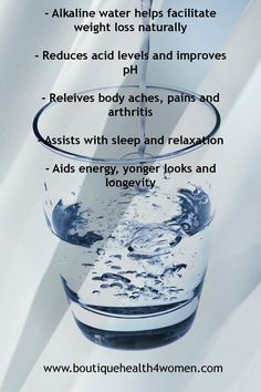 Use Alkaline Water for a better hydration, for acid reflux problems or to lose weight. Find out more about it`s benefits and where to buy it from. High Alkaline Water, Drinking Alkaline Water, Alkaline Foods, Kangen Water Benefits, Alkaline Water Benefits, Safe Tanning, Weight Loss Drinks, Smoothie Diet, Healthy Choices