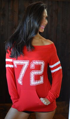 CUSTOM Number. Seven Colors to Choose by FiredaughterClothing