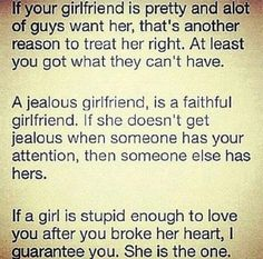 Sorta true but eh... - Click the Pic For The Permanent Anti Jealousy Solution