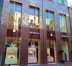Nespresso – Design Retail Space Shop Facade, Retail Windows, Retail Space, Dublin, Nespresso, Display, Design, Floor Space, Billboard