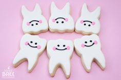 Tooth Fairy Cookies @aprilxmichelle I think you need to make these for the office!! Lol