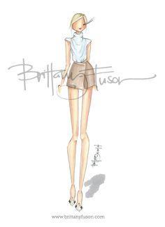 Brittany Fuson September 2014  |  Trend: Wrap Skirts