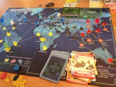 Pandemic Board- great cooperative game for grade 10, 11, 12