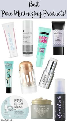 Best Pore Minimizing Products!