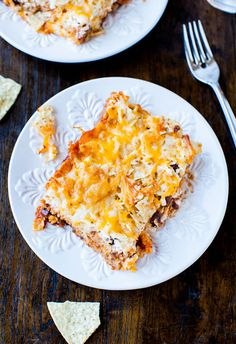 Chips and Cheese Chili Casserole   by Averie of Averie Cooks