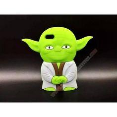 Carcasa 3D Maestro Yoda Star Wars para iPhone 6 Plus/6S Plus