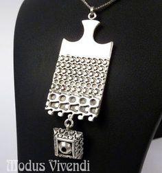 Pendant Jewelry, Silver Jewelry, Precious Metal Clay, Clay Art, Finland, Vintage Designs, Scandinavian, Diys, Hanger