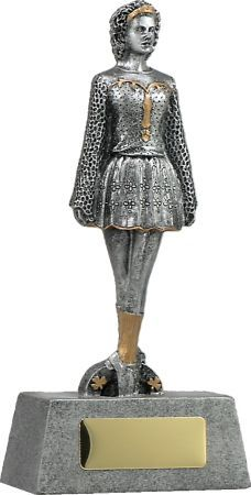 Irish Dancer - Recognise a top dancer with one of our popular resin trophies. Antique silver resin with gold trim, this trophy is a perfect way to reward outstanding effort. Dance Awards, Irish, Dancer, Tops, Irish Language, Dancers, Ireland