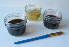 Poppytalk: Art Tutorial: Drink Up These Kitchen Colorants!  TEA, Coffee, and WINE!