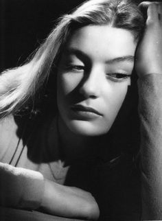 Anouk Aimee by Harcourt Studio. 1952