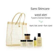 Please come see us at west elm Tyson's this Saturday and Sunday!  See the full Sans Skincare line by clicking on our website  . . . . #SansSkincare #SansGirl #dryskin #naturalskin #naturalliving #natureelite #greenliving #relax #exfoliate #dryskin #sugarscrub #softskin #scrub #nature #naturalgirl #naturale #organicproducts #organicliving #organiclife #organicmakeup #organics