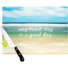 Found it at Wayfair - Any Beach Day Cutting Board