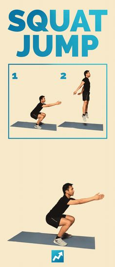 Squat Jump | The Only 12 Exercises You Need To Get In Shape
