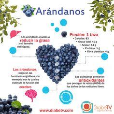 los diabeticos si pueden comer arandanos