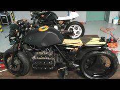CAFE RACER BMW K100 1988-2016 PART1 - YouTube