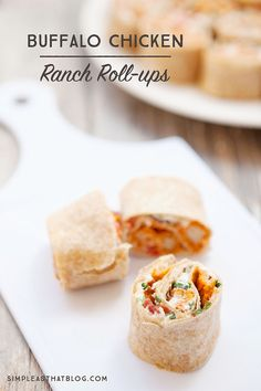 These spicy, whole-wheat tortilla roll-ups are a tasty appetizer for game day! They're quick and easy to put together which means you can spend more time enjoying the big game with friends and family, not in the kitchen!
