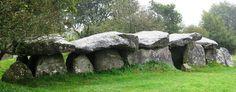 Mougau-Bihan Alley Grave, Commana, Finistere, Brittany