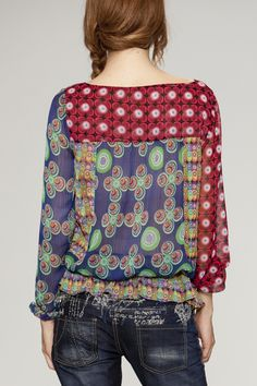 Desigual #patterns #blouse