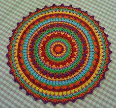 Die 85 Besten Bilder Von Mandala Crochet Doilies Yarns Und