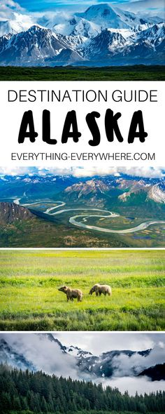 The ultimate guide to Alaska, including tips for visiting national parks such as Denali, Glacier Bay, and Arctic + practical information on airports, safety, and getting around. Travel in the USA. | Everything Everywhere Travel Blog #Alaska #Travel
