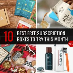 New garden ideas cheap dollar stores free samples Ideas Free Sample Boxes, Free Boxes, Free Stuff By Mail, Get Free Stuff, Free Books By Mail, Best Monthly Subscription Boxes, Subscription Gifts, Free Subscriptions, Christmas On A Budget