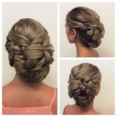 Up do, wedding hair, prom hair, curly up do, side up do