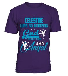 # CELESTINE WAS SO AMAZING .  CELESTINE WAS SO AMAZING  A GIFT FOR THE SPECIAL PERSON  It's a unique tshirt, with a special name!   HOW TO ORDER:  1. Select the style and color you want:  2. Click Reserve it now  3. Select size and quantity  4. Enter shipping and billing information  5. Done! Simple as that!  TIPS: Buy 2 or more to save shipping cost!   This is printable if you purchase only one piece. so dont worry, you will get yours.   Guaranteed safe and secure checkout via:  Paypal…