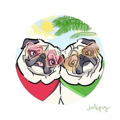Inkpug! | Minnie & Max the Pugs are supporting Tiny Paws Pug...