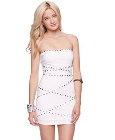 FOREVER 21 Studded Bodycon Dress  $24.80 sexy party dress #fashion #outfit #style #stylish #holiday #party #clothes #new year #date